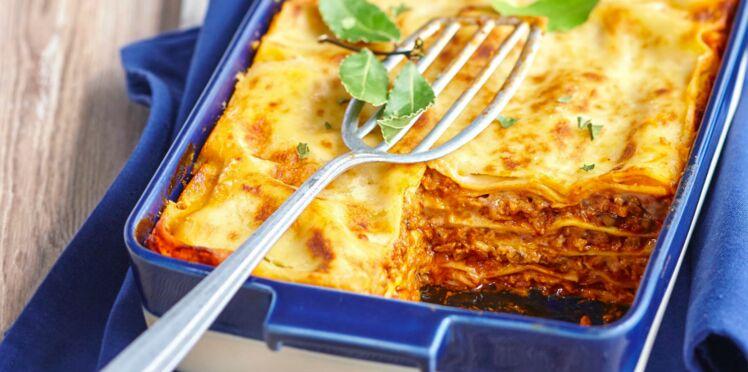 Lasagnes de veau à la parmesane