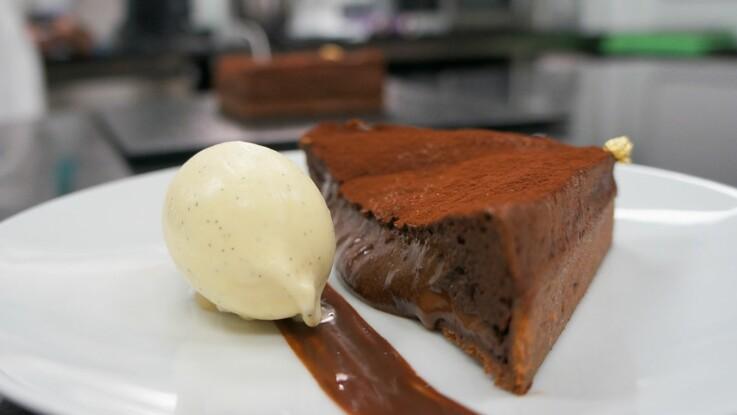 La tarte au chocolat soufflée de Cédric Grolet