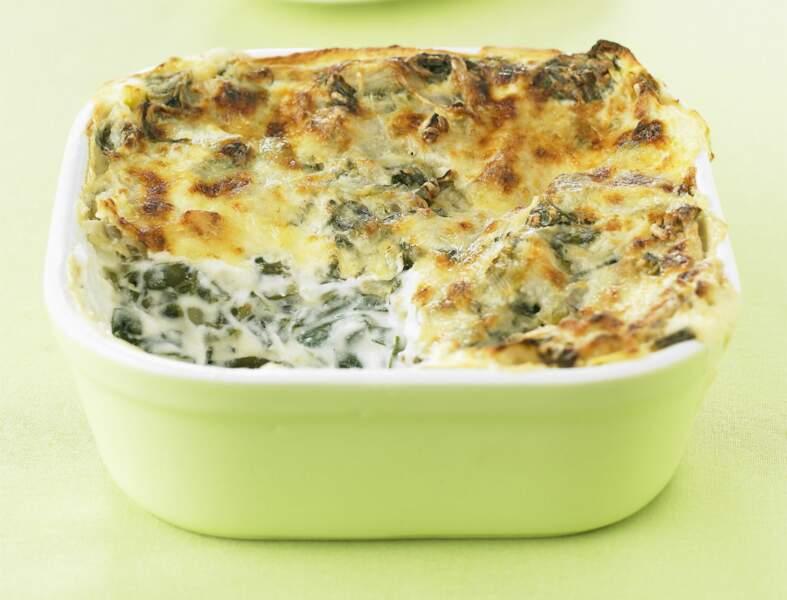 Côtes de Bettes en lasagnes