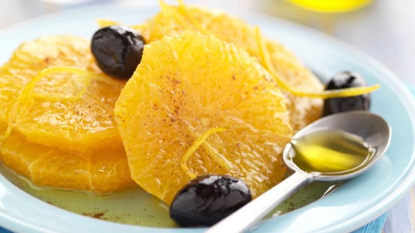 Salade d'oranges à l'huile d'olive