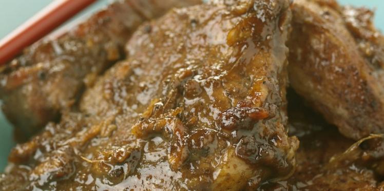 Filet mignon au miel