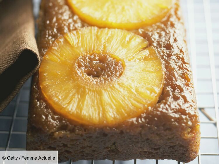 Cake à l'ananas : découvrez les recettes de cuisine de Femme Actuelle Le MAG