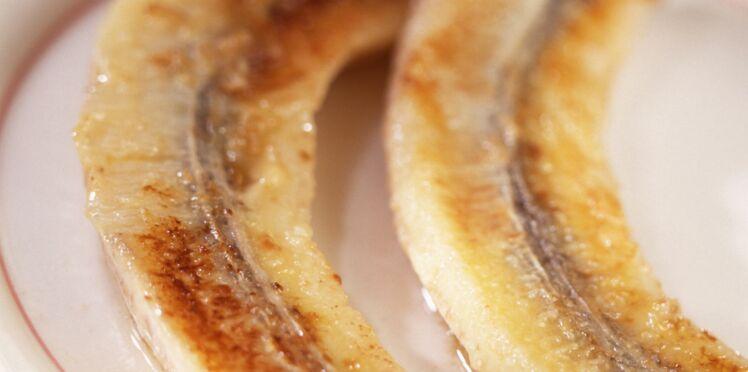 Bananes flambées simples et très rapides