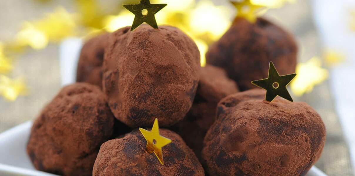 Choisissez parmi nos meilleures recettes de truffes sucrées