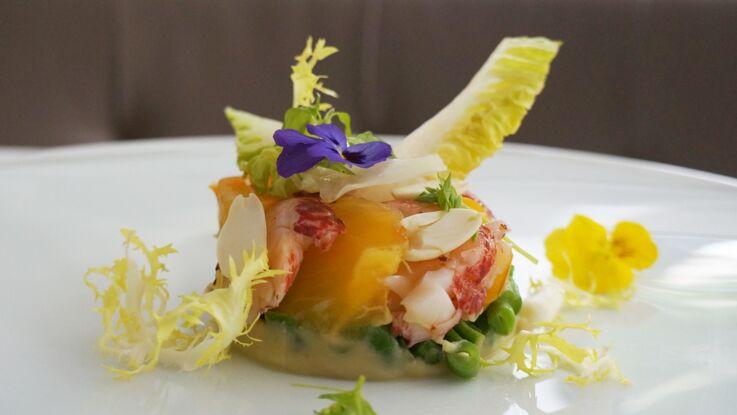 Une salade comme dans un palace : le défi gourmand de Frédéric Duca