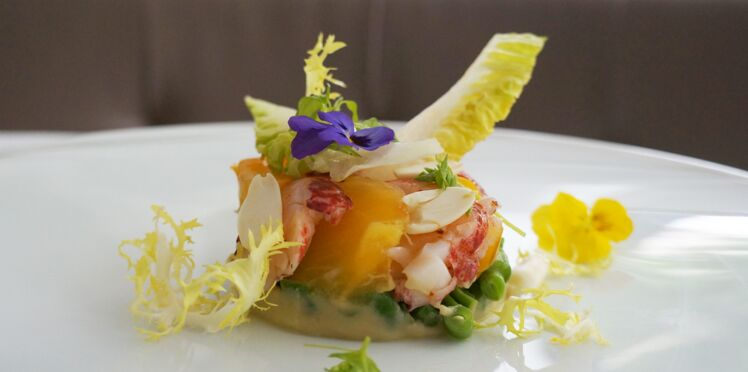 Salade de homard version palace