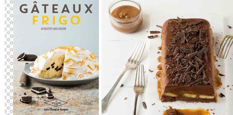 Marquise chocolat, banane et confiture de lait