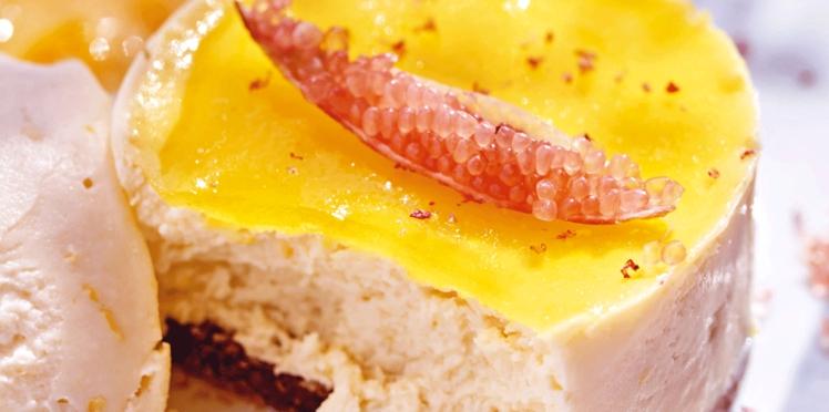 Cheesecake light au citron de Menton