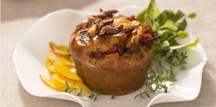 Petits muffins à l'émietté de canard La Belle Chaurienne