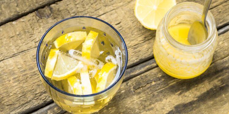 Boisson pour la cure de citron