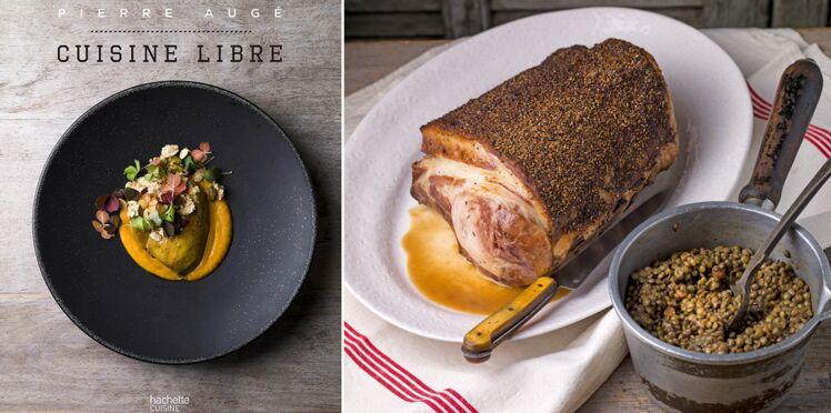 Carré de cochon tirabixu et lentille de Pierre Augé