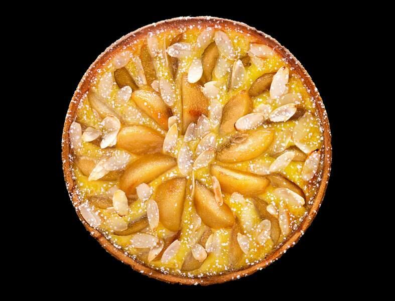 Tarte aux poires et miel de sapin