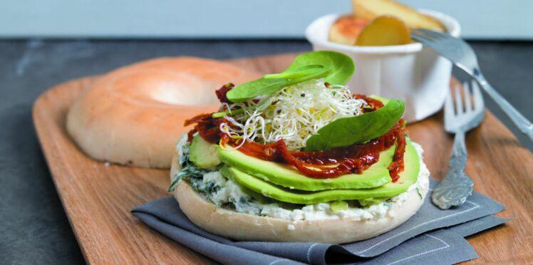 Méga green bagel