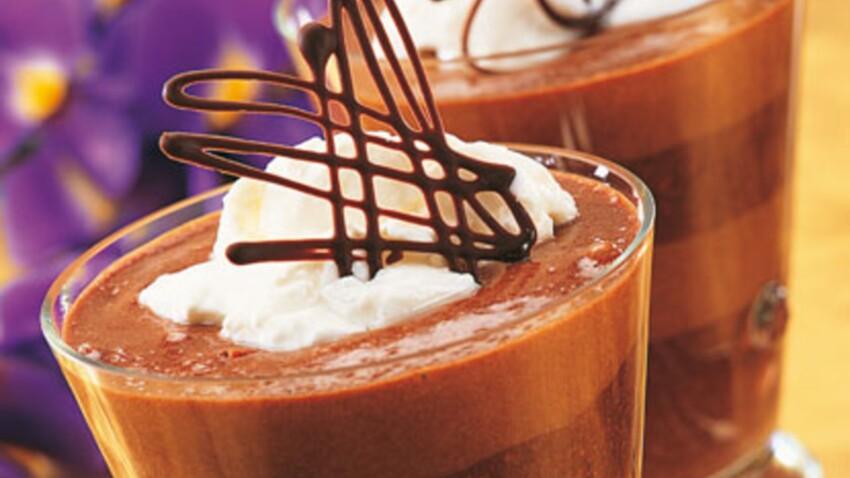 Verrines au chocolat