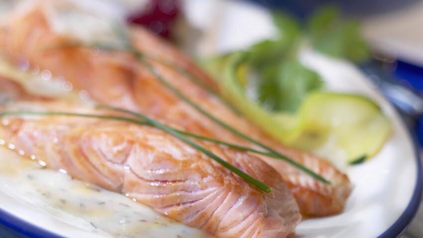 Recette de filets de saumon