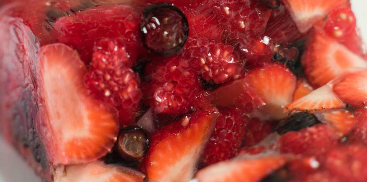 Terrine de fraises facile