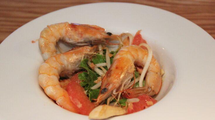 La recette express de Grégory Cuilleron : une salade exotique