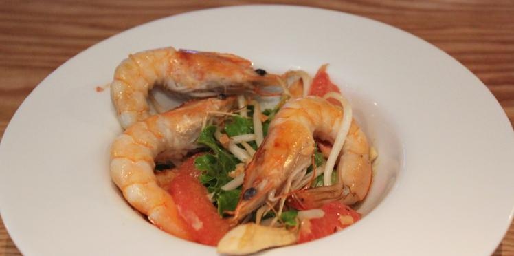 Salade asiatique de Grégory Cuilleron