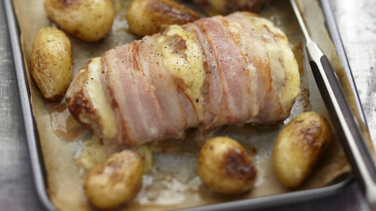 Filet Mignon de porc en habit de lard
