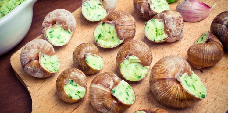Escargots à l'anis