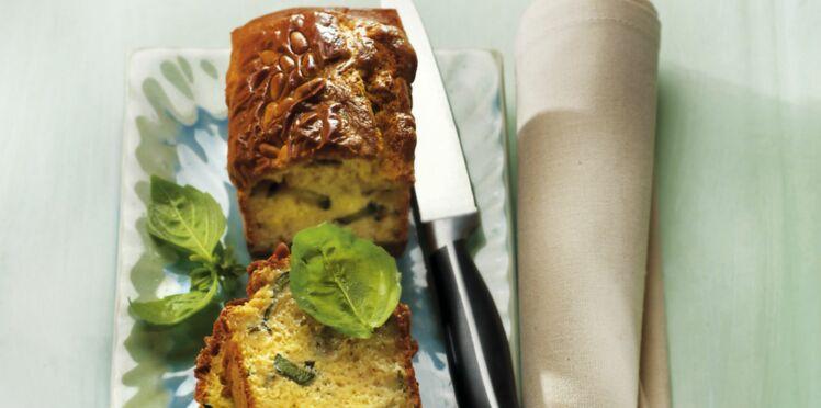 Cake courgette-chèvre