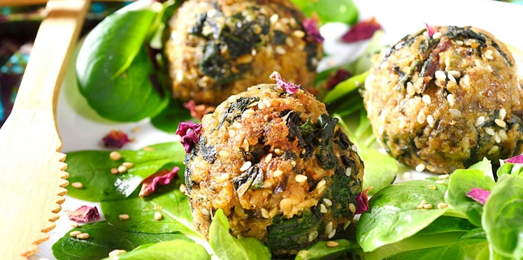Boulettes veggie aux blettes et aux noix