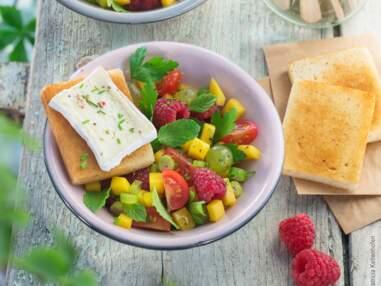 Les salades sucrées-salées ont la cote cet été !