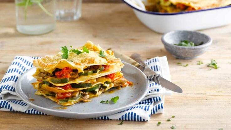 La recette des lasagnes végétariennes en vidéo