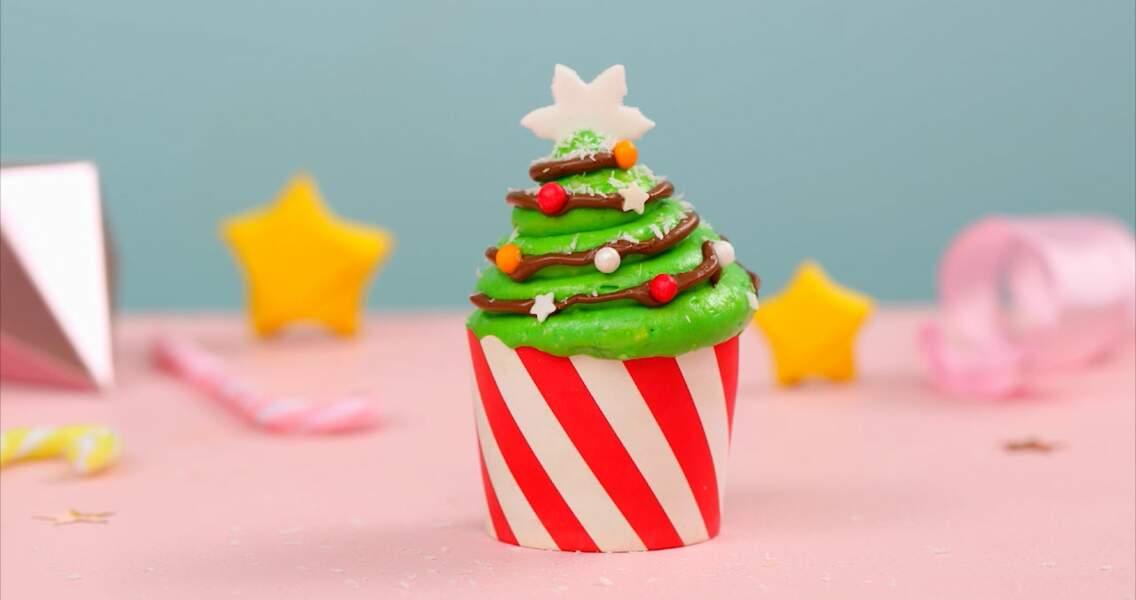 Cupcakes de Noël au Nutella