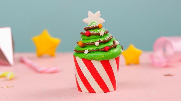 Cupcakes de Noël au Nutella®