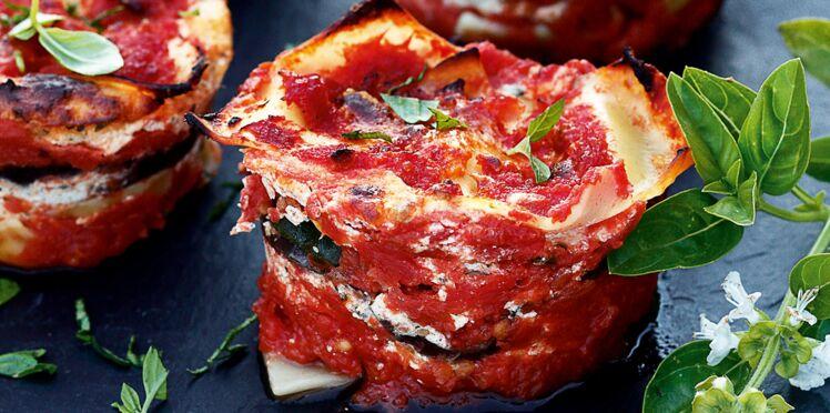 Timbales de lasagnes