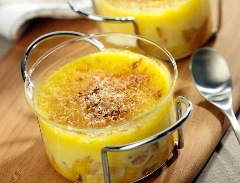 Gratin mangue-coco