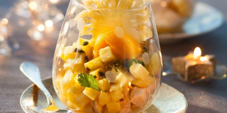 La fraîcheur express ananas-passion d'Amandine Chaignot