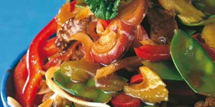Légumes sautés aux saveurs d'asie