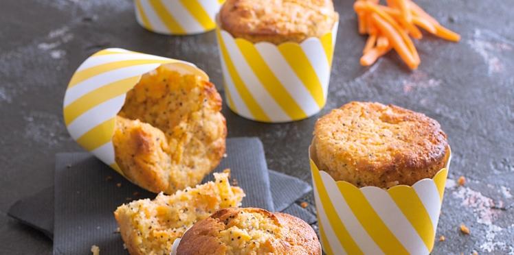 Carrotcake au miel et aux graines de pavot