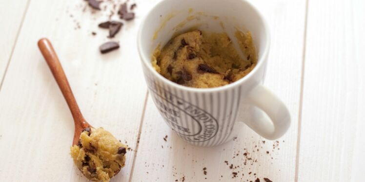 Mugcake cookie