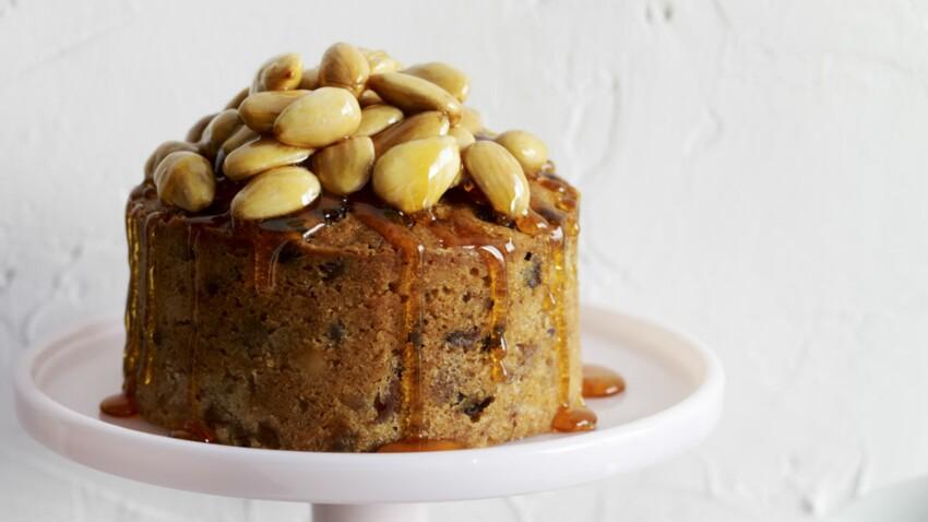 Panciale, gâteau italien au miel et fruits secs
