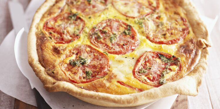 Quiche tomate
