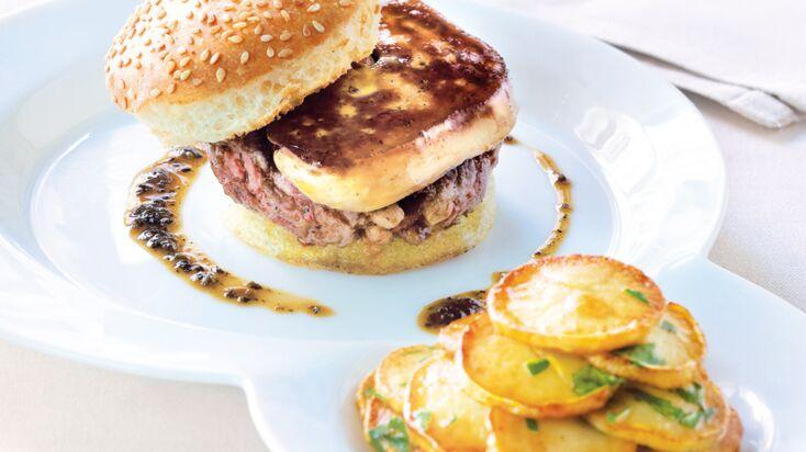 Le burger de foie gras par Eric Frechon