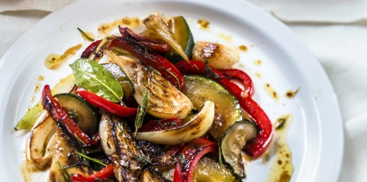 Légumes d'été, parfum de garrigue