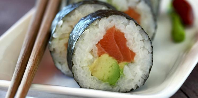 Makis saumon - concombre - avocat