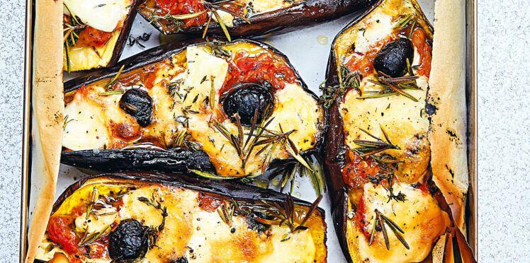Aubergines provençales gratinées de Maïtena Biraben
