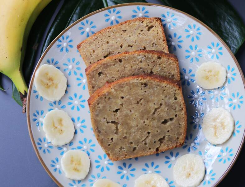 Bananabread bio et sans gluten
