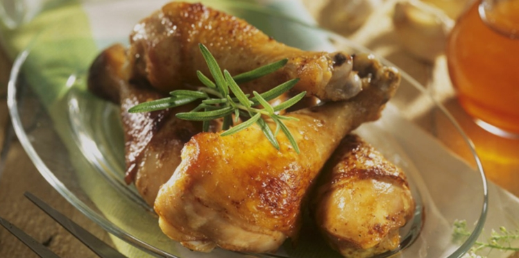 Pilons de poulet miel-citron