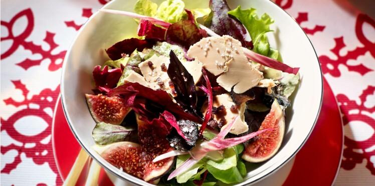 Salade folle : une entrée de fêtes fraîche et gourmande
