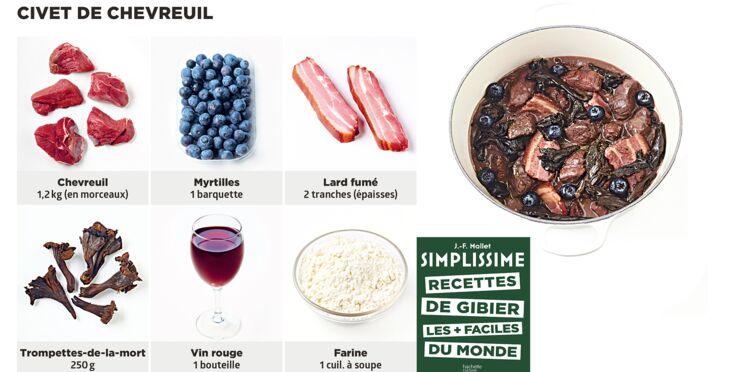 Civet de chevreuil Simplissime