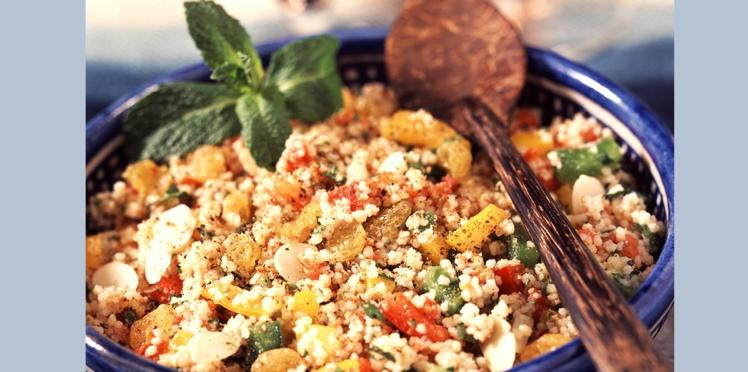 Salade de couscous au thon