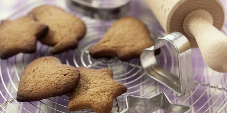 Couques de Noël - biscuits vanillés