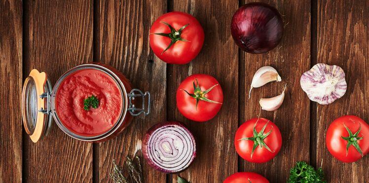 Coulis de tomates en conserve