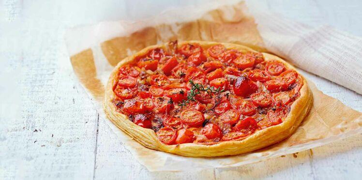 Tarte Fine Tomates Echalotes Par Laurent Mariotte Decouvrez Les
